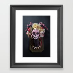 April Blossom Muertita Front Framed Art Print