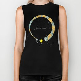 Discover yourself Biker Tank