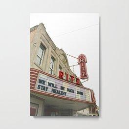 Ritz Theater Metal Print