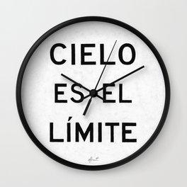 CIELO ES EL LIMITE Wall Clock