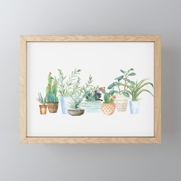 Plants Framed Mini Art Print