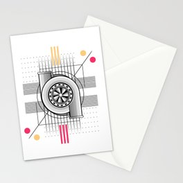 Turbo engine Stationery Cards