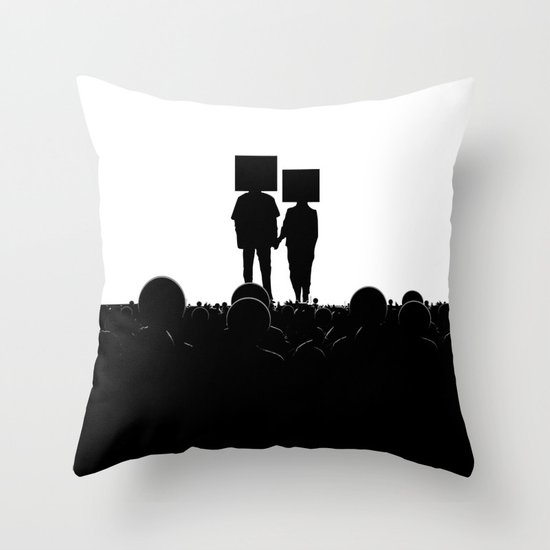 I have you. You have me. - US AND THEM Throw Pillow