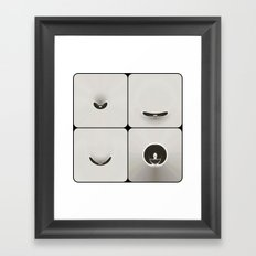 sym3 Framed Art Print