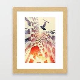 63 Framed Art Print