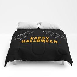 Happy Halloween Bat Comforters