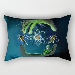 The Atom Control Rectangular Pillow