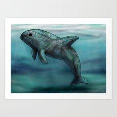 Vaquita  Art Print