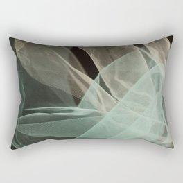 Abstract veil background Rectangular Pillow