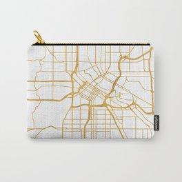 MINNEAPOLIS MINNESOTA CITY STREET MAP ART Carry-All Pouch