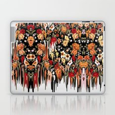 Free Falling, melting floral pattern Laptop & iPad Skin