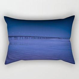 Pier photography night Rectangular Pillow