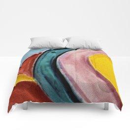 The Kandinsky's Chubby Bird 2 Comforters