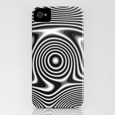 Black and White Slim Case iPhone (4, 4s)