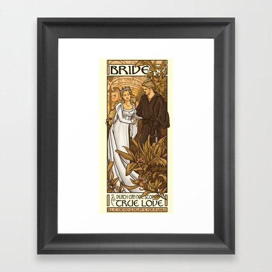 Bride Framed Art Print