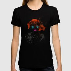 Natalia Black X-LARGE Womens Fitted Tee