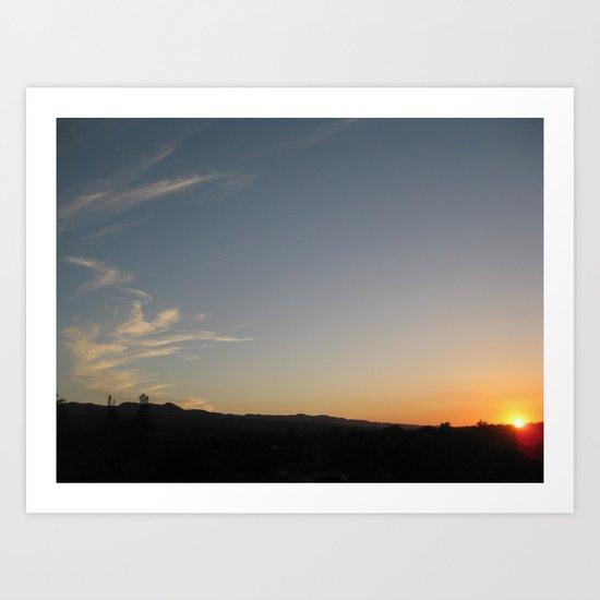 Jamaica - Sunsets II Art Print