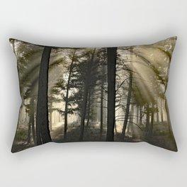 Woodland Sunrise Rectangular Pillow