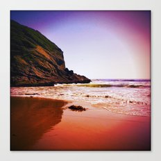 Strawberry Seas Canvas Print