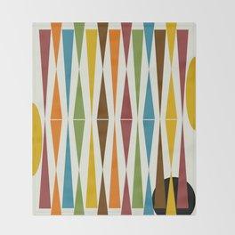 Mid-Century Modern Art 1.4 Throw Blanket