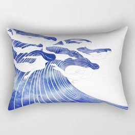 Seven Nereids Rectangular Pillow