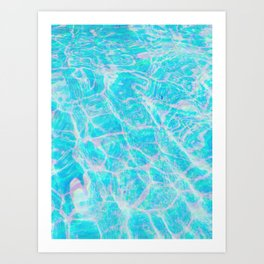 cool summer Art Print