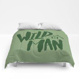 Wild Man x Green Comforters