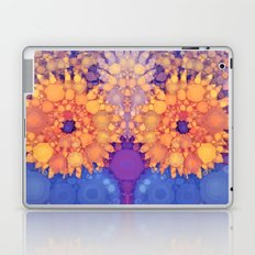 Vintage Flowers in the rain Laptop & iPad Skin