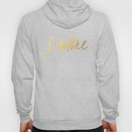 J'adore in Gold Hoody