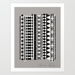 Étude Ilsamique Art Print