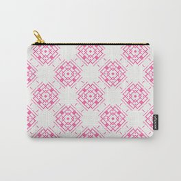 Pink Blooming Boxes Carry-All Pouch