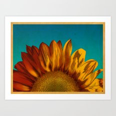 A Sunflower Art Print