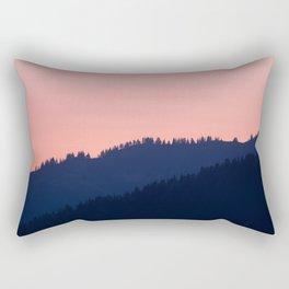 Swiss mountains Rectangular Pillow