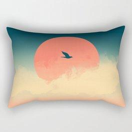 Lonesome Traveler Rectangular Pillow
