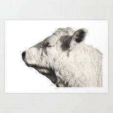 Bovine Profile Art Print