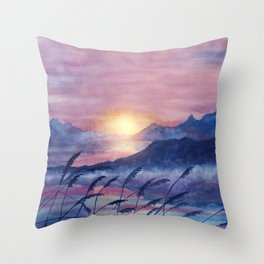 Wish You Were Here  01 Throw Pillow