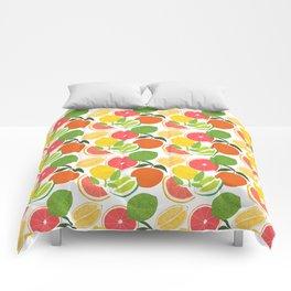 Citrus Harvest Comforters