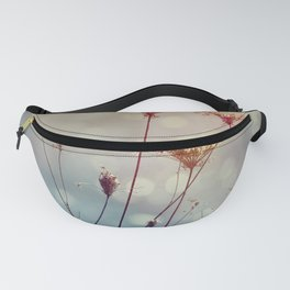 Soft Queen Anne's Lace and Bokeh Fanny Pack