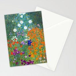 Gustav Klimt - Cottage Garden Stationery Cards