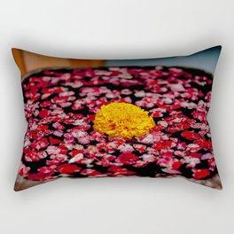 A Marigold In Indonesia Rectangular Pillow