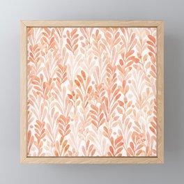 summer grass. seamless pattern Framed Mini Art Print