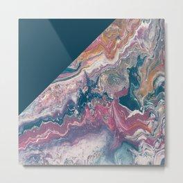 Artemis Color Block Metal Print