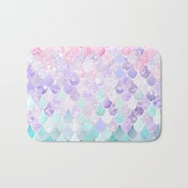 Mermaid Pastel Iridescent Bath Mat