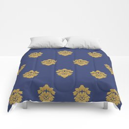 Free Marches (Blue) Comforters