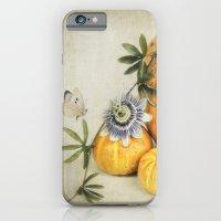 pumpkin & passiflora Slim Case iPhone 6s