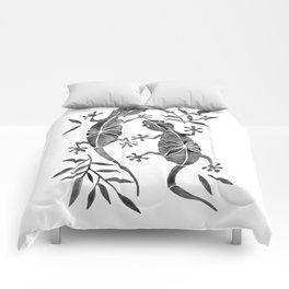 Geckos – Black Palette Comforters
