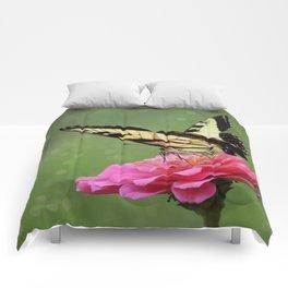 Bokehs and Butterflies Comforters