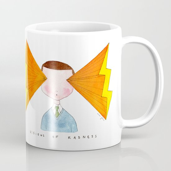 visions of radness Mug
