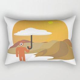 sunny glance Rectangular Pillow