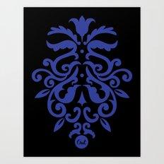 out ornamental Art Print